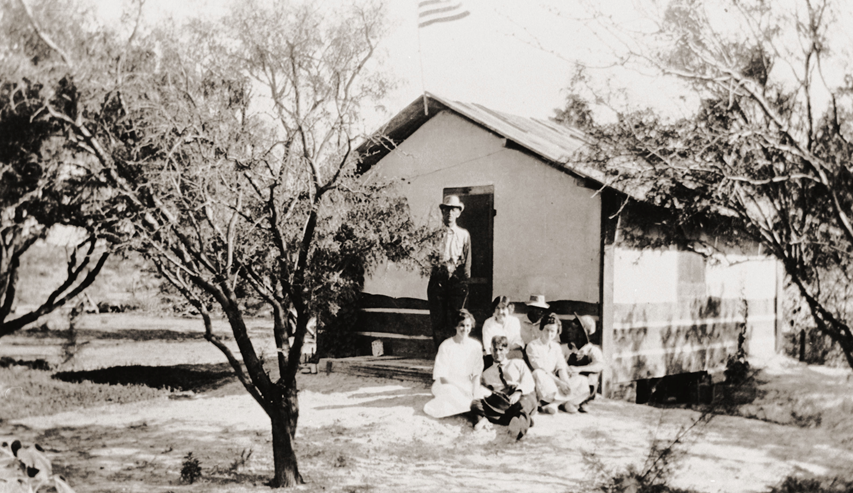 1923 First School - Indian Springs, Nevada