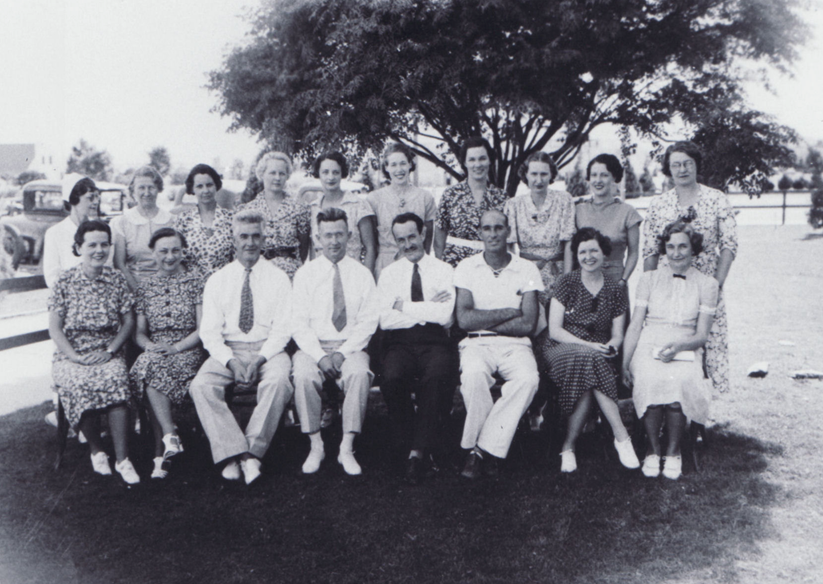 Boulder City School Faculty - 1935